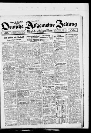 Deutsche allgemeine Zeitung on Jun 10, 1923