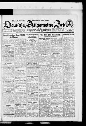 Deutsche allgemeine Zeitung vom 02.01.1924