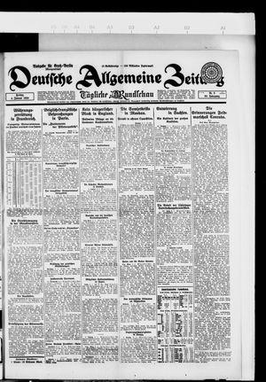 Deutsche allgemeine Zeitung on Jan 4, 1924