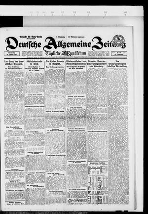 Deutsche allgemeine Zeitung vom 10.01.1924