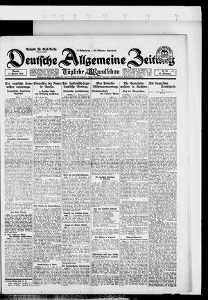 Deutsche allgemeine Zeitung on Jan 14, 1924