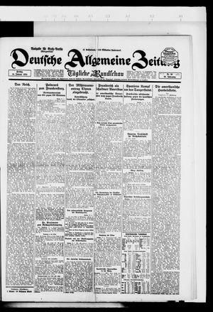 Deutsche allgemeine Zeitung vom 18.01.1924