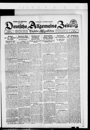 Deutsche allgemeine Zeitung vom 23.01.1924
