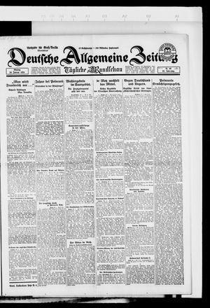 Deutsche allgemeine Zeitung vom 28.01.1924