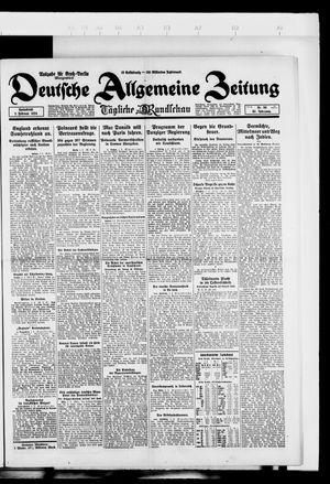 Deutsche allgemeine Zeitung vom 02.02.1924