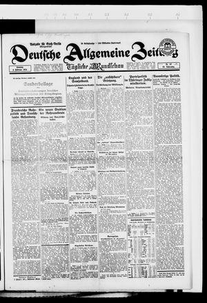 Deutsche allgemeine Zeitung vom 03.02.1924