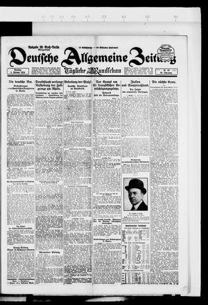 Deutsche allgemeine Zeitung vom 05.02.1924