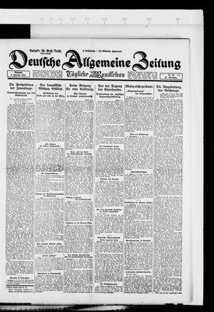 Deutsche allgemeine Zeitung vom 06.02.1924