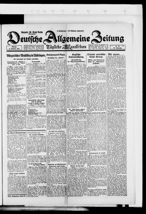 Deutsche allgemeine Zeitung vom 11.02.1924