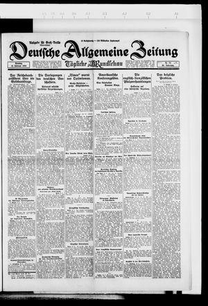 Deutsche allgemeine Zeitung vom 12.02.1924