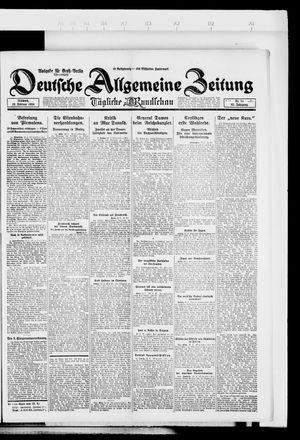 Deutsche allgemeine Zeitung vom 13.02.1924