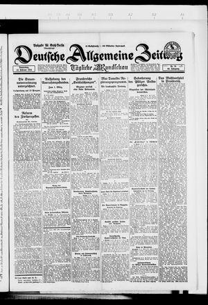 Deutsche allgemeine Zeitung vom 14.02.1924