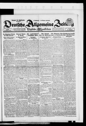 Deutsche allgemeine Zeitung vom 15.02.1924