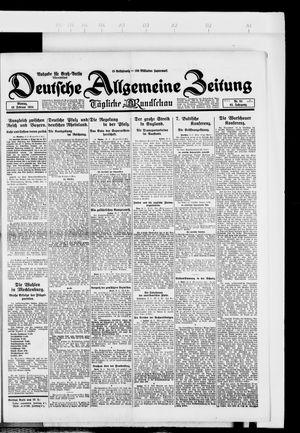 Deutsche allgemeine Zeitung on Feb 18, 1924