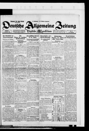 Deutsche allgemeine Zeitung vom 20.02.1924