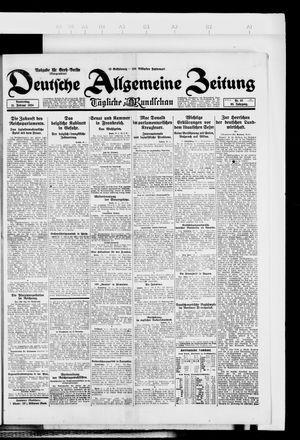 Deutsche allgemeine Zeitung vom 21.02.1924