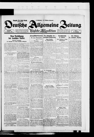 Deutsche allgemeine Zeitung vom 23.02.1924