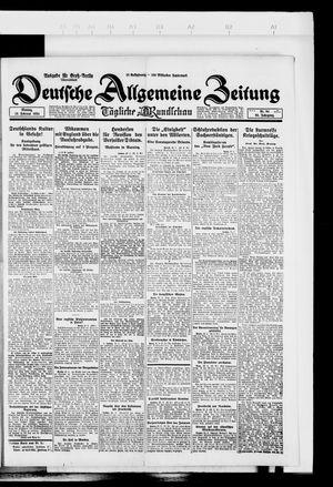 Deutsche allgemeine Zeitung on Feb 25, 1924