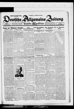 Deutsche allgemeine Zeitung vom 26.02.1924