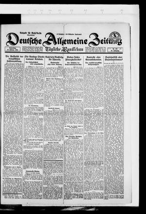 Deutsche allgemeine Zeitung vom 28.02.1924