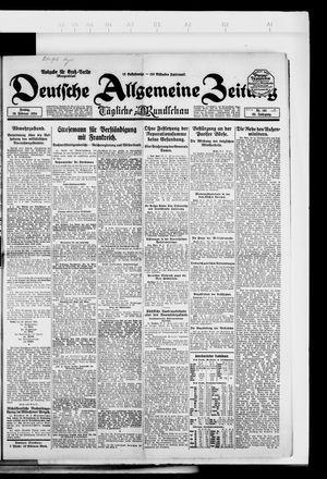 Deutsche allgemeine Zeitung vom 29.02.1924