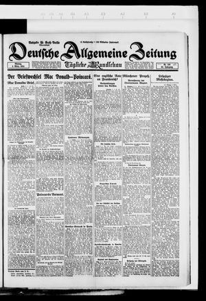 Deutsche allgemeine Zeitung vom 03.03.1924