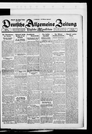 Deutsche allgemeine Zeitung vom 04.03.1924