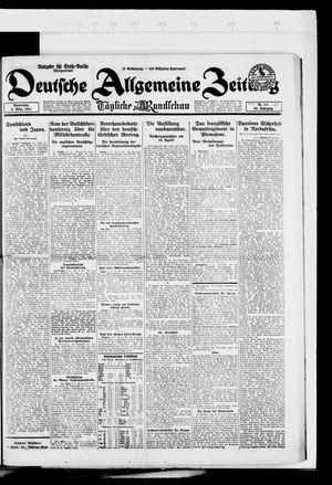 Deutsche allgemeine Zeitung vom 06.03.1924