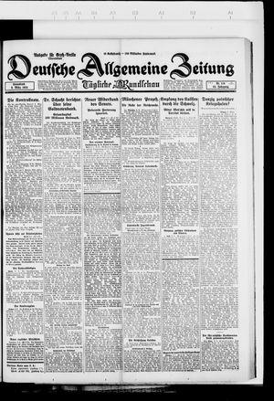 Deutsche allgemeine Zeitung vom 08.03.1924
