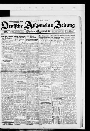 Deutsche allgemeine Zeitung vom 09.03.1924