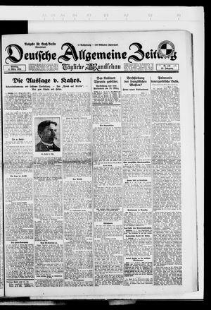 Deutsche allgemeine Zeitung vom 11.03.1924