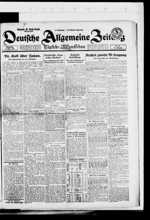 Deutsche allgemeine Zeitung vom 13.03.1924