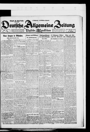 Deutsche allgemeine Zeitung vom 15.03.1924