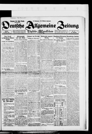 Deutsche allgemeine Zeitung vom 16.03.1924