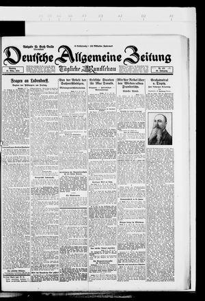 Deutsche allgemeine Zeitung vom 18.03.1924