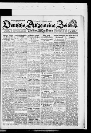 Deutsche allgemeine Zeitung vom 20.03.1924