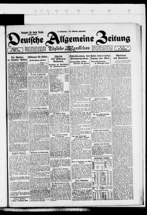 Deutsche allgemeine Zeitung on Mar 22, 1924