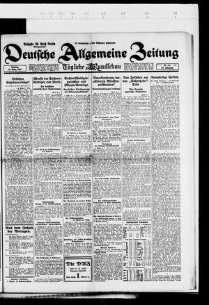 Deutsche allgemeine Zeitung vom 23.03.1924