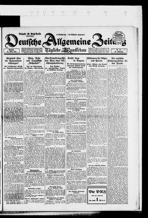 Deutsche allgemeine Zeitung vom 25.03.1924