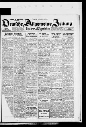 Deutsche allgemeine Zeitung vom 26.03.1924