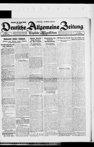 Deutsche allgemeine Zeitung vom 28.03.1924