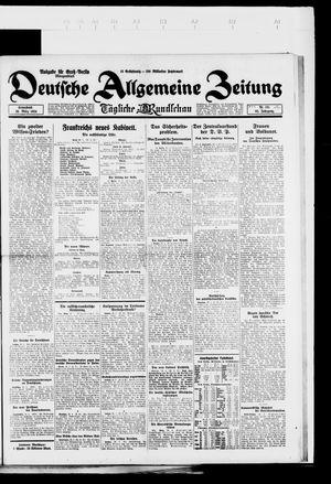 Deutsche allgemeine Zeitung vom 29.03.1924