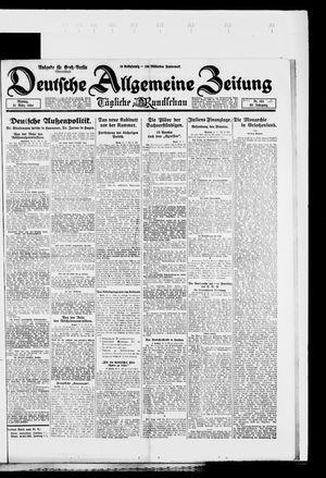 Deutsche allgemeine Zeitung vom 31.03.1924