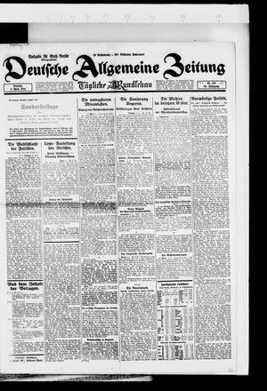 Deutsche allgemeine Zeitung vom 06.04.1924