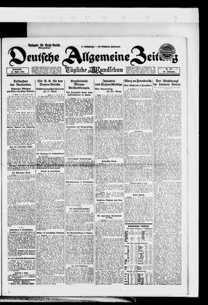 Deutsche allgemeine Zeitung vom 12.04.1924