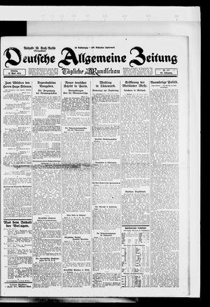 Deutsche allgemeine Zeitung vom 13.04.1924