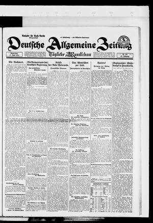 Deutsche allgemeine Zeitung vom 17.04.1924