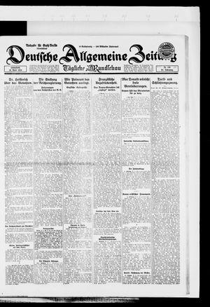 Deutsche allgemeine Zeitung on Apr 19, 1924