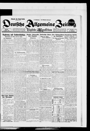 Deutsche allgemeine Zeitung vom 20.04.1924