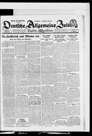 Deutsche allgemeine Zeitung vom 24.04.1924